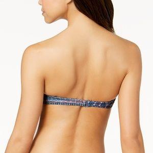 Roxy Swim - Roxy Sun Surf Medallion Bandeau Bikini Top L